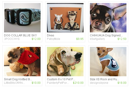 fabulous pet finds on etsy