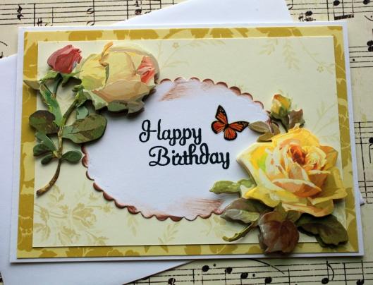 layered birthday greeting card by oldladybern
