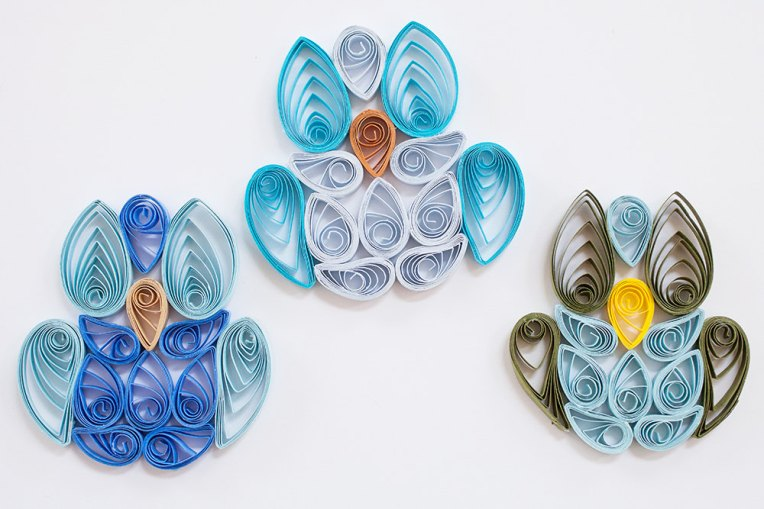Blue Quilled Owls