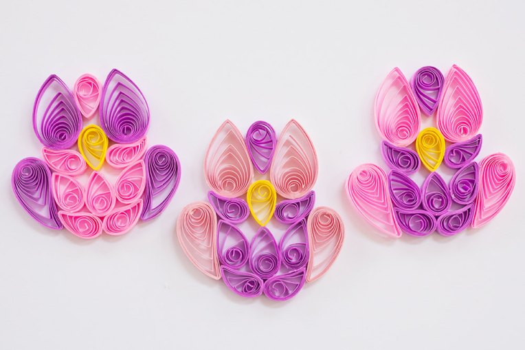 Pink Quilled Owls