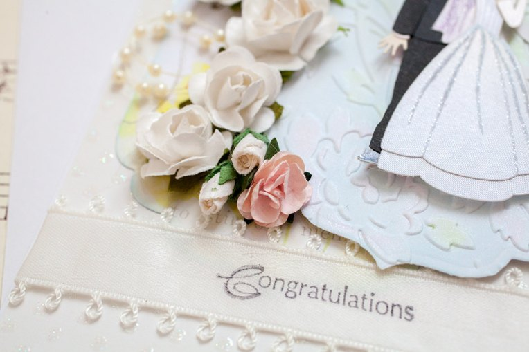 Fun Unique Handmade Wedding Card
