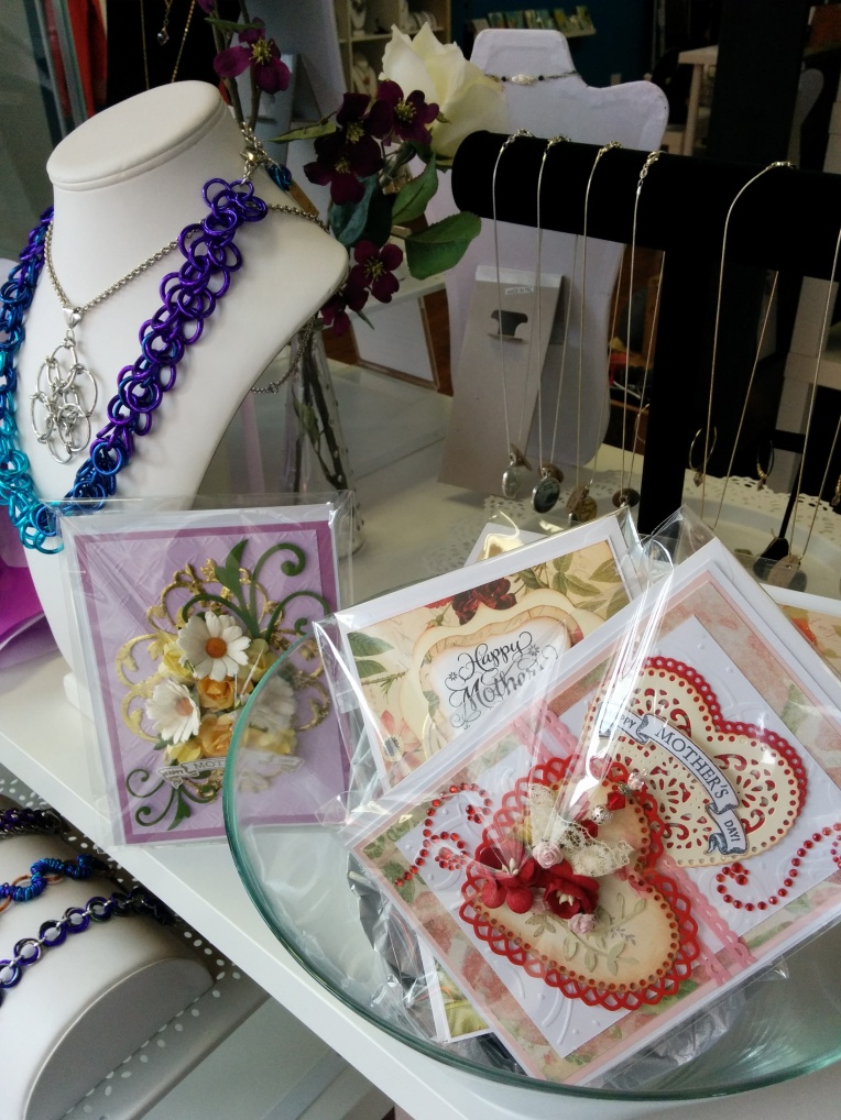 Old Lady Bern cards for sale at the Blue Buddha Boutique